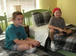 me and sean playing halo again